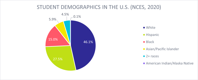 student demographics in the US_nces 2020